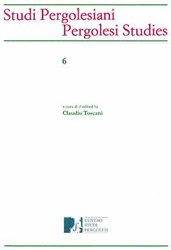 Volume studi pergolesiani n. 6