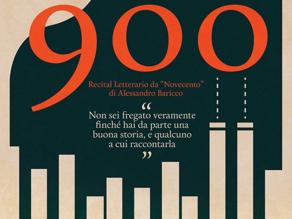 '900 - Una lettura scenica da Novecento di Alessandro Baricco