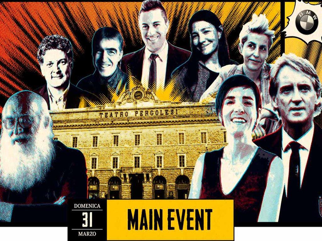 BRAND FESTIVAL 2018 - Main event al Teatro Pergolesi