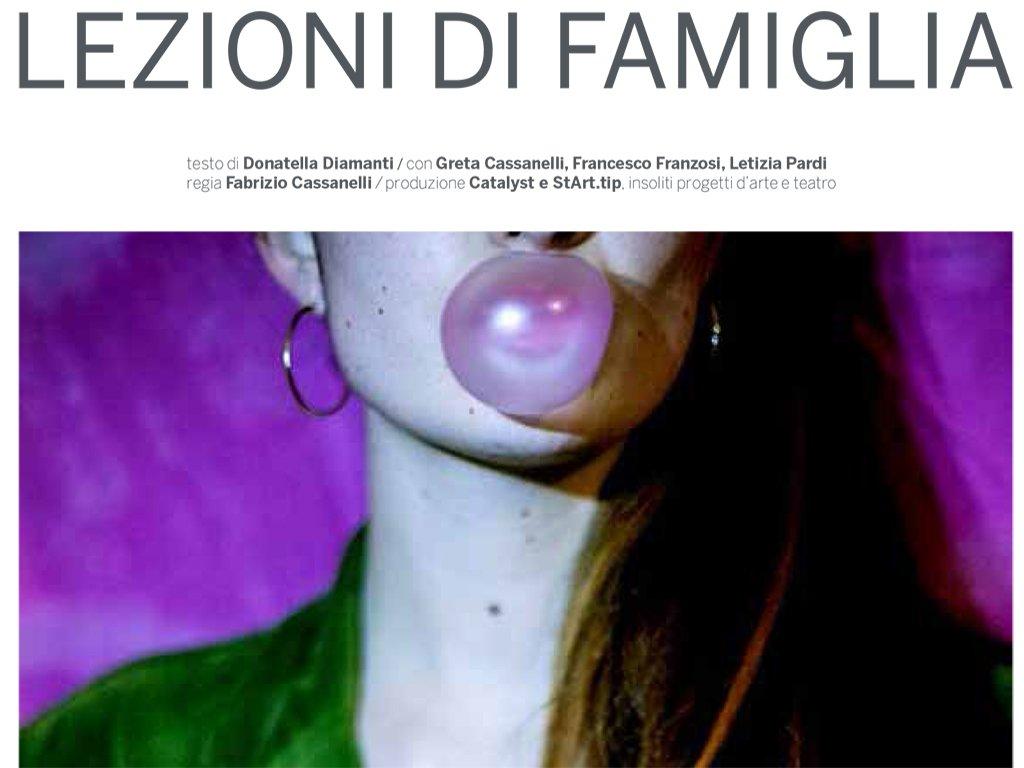 Lezioni di famiglia - Adolescena I edizione