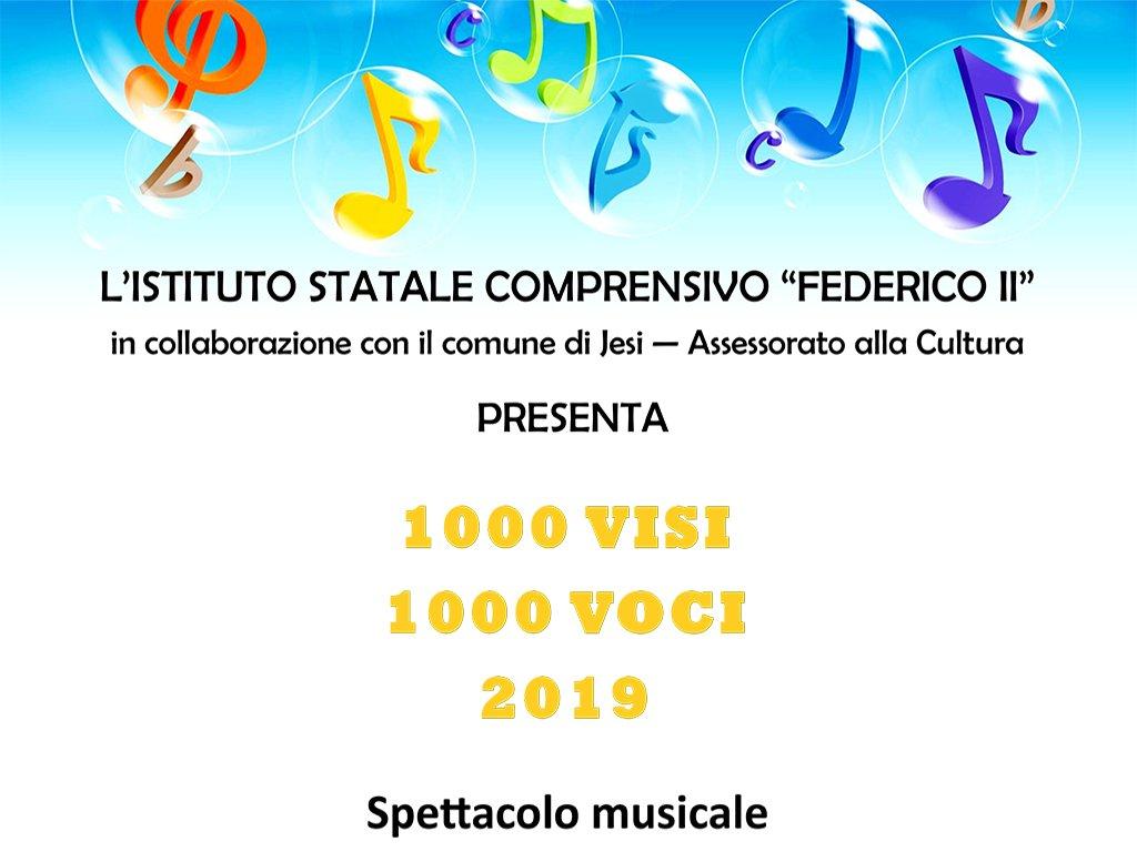 1000 VISI 1000 VOCI - Saggio Istituto Comprensivo Federico II