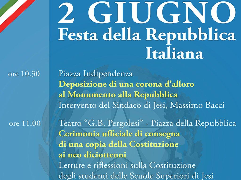 2 Giugno Festa della Repubblica Italiana_Consegna Costituzione