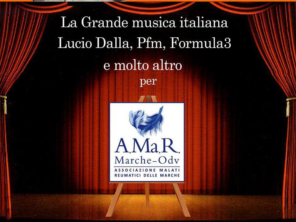 LA GRANDE MUSICA ITALIANA PER A.Ma.R MARCHE - EVENTO ANNULLATO